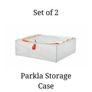Set of 2 - Parkla IKEA Storage Zippered Clear Bag